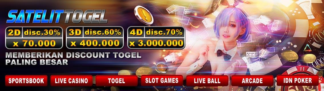 SatelitTogel Bandar Togel Online Deposit Pulsa Termurah